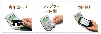 iD(専用カード・クレジット一体型・携帯型)