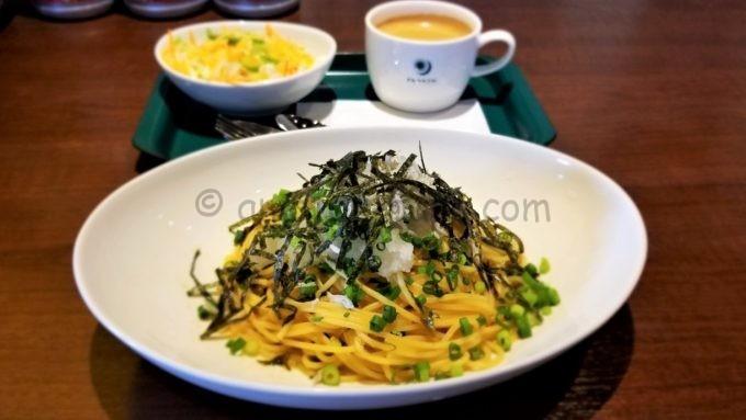 PRONTO(プロント)のじゃこと辛子高菜の和風パスタ
