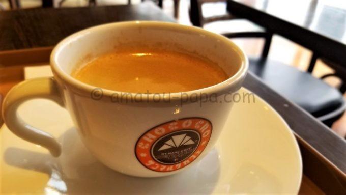 サンマルクカフェのコーヒー