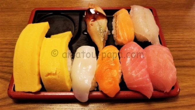しゃぶ葉の寿司