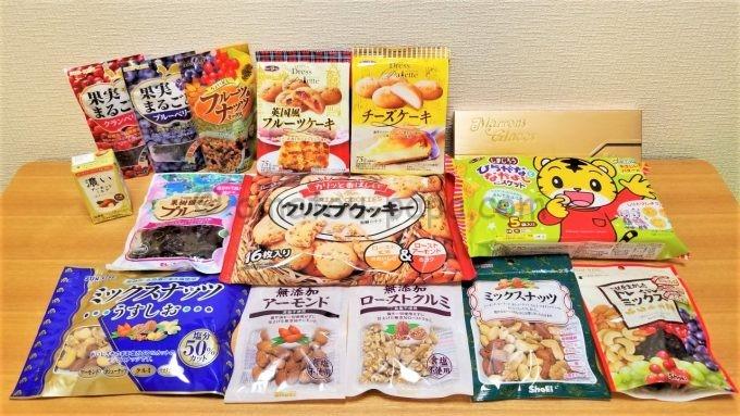 正栄食品工業株式会社の株主優待商品(お菓子)
