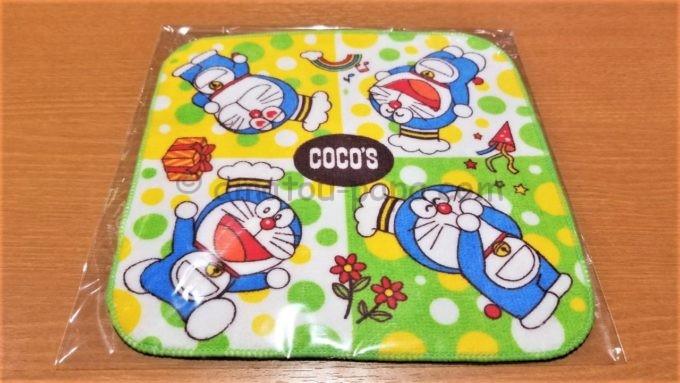 COCO'S(ココス)でもらった誕生日プレゼント(ドラえもんグッズ)