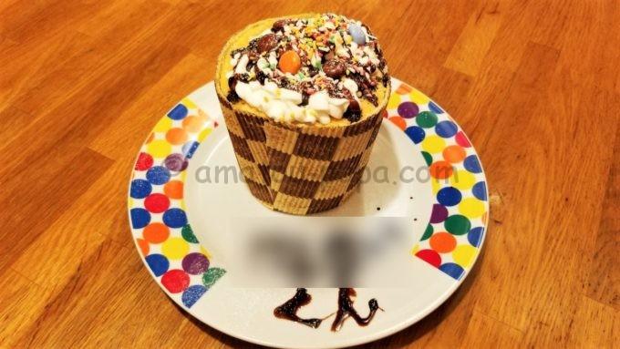 ブロンコビリーの誕生日特典でもらえるケーキ