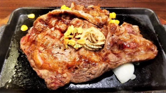 いきなり!ステーキのゴールドカード限定 誕生日特典(US リブロース300g)