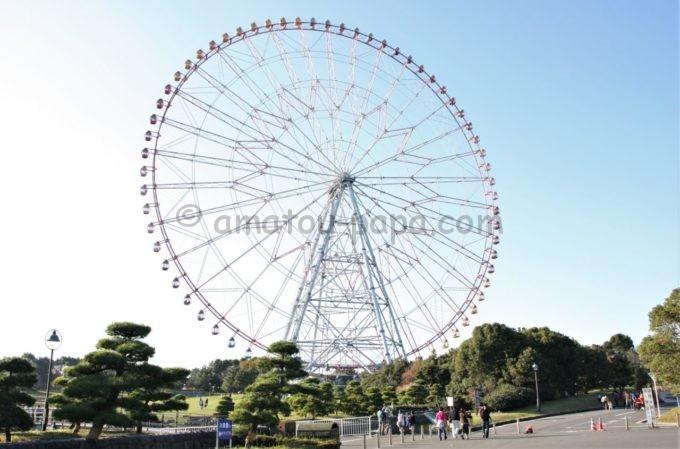 葛西臨海公園「ダイヤと花の大観覧車」