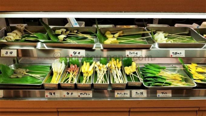 串家物語の串カツ食べ放題コーナー