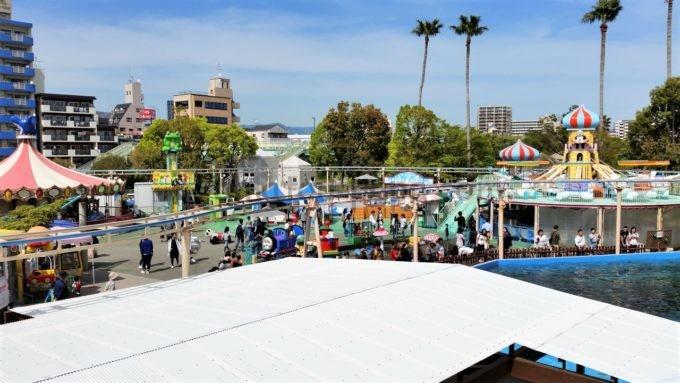 須磨海浜水族園の遊園地(プレイランド)