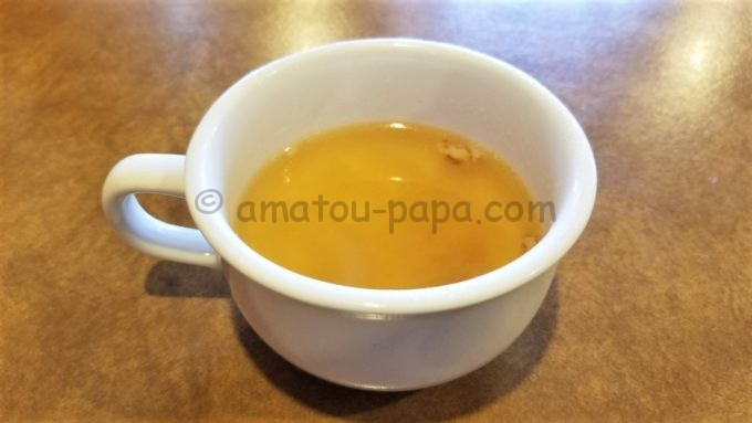 ジョリーパスタのランチスープ