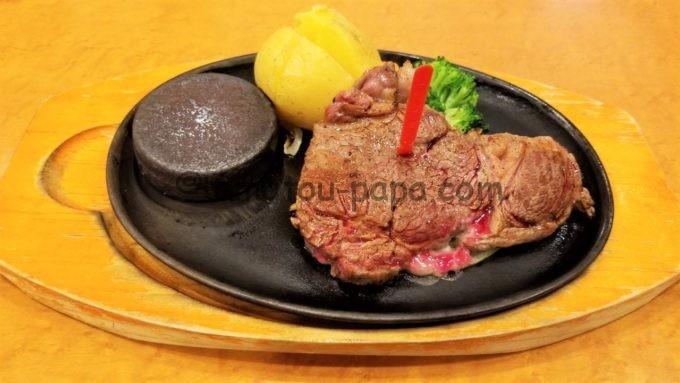 ステーキのどんのリブロースステーキ
