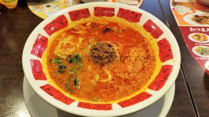 バーミヤンの花山椒とラー油の担担麺