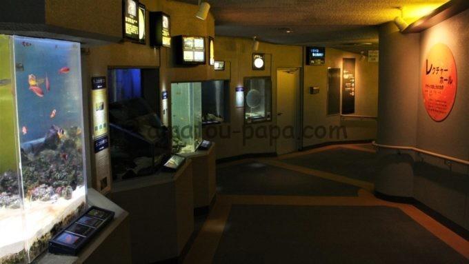 のとじま水族館のレクチャーホール