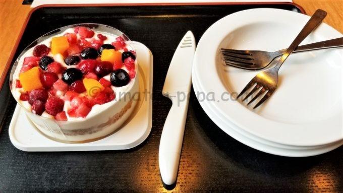 どん亭の誕生日アイスケーキ(キッズ用)