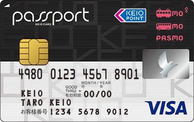 京王パスポートPASMOカード VISA