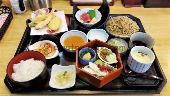 和食麺処サガミの「サガミワ和膳(韃靼そば付)」