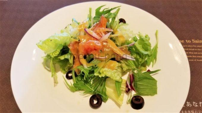 ベーカリーレストラン サンマルクの本日のサラダ