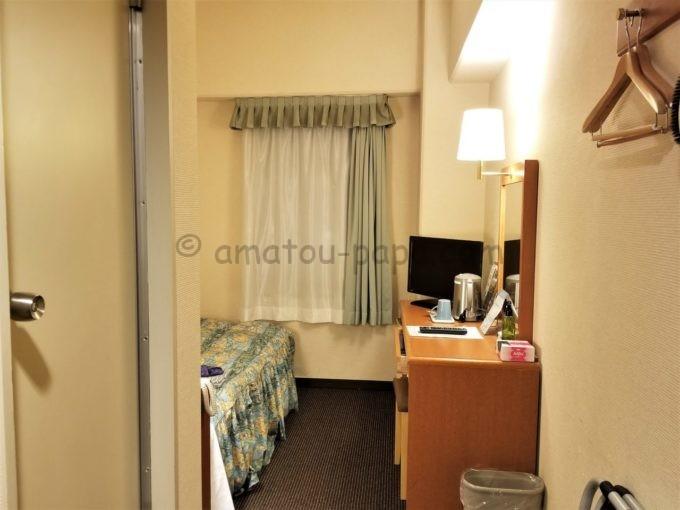 センターホテル大阪のシングルルーム