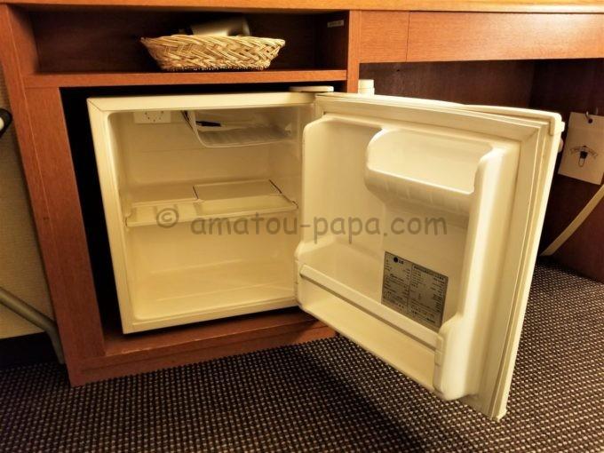 センターホテル大阪の冷蔵庫