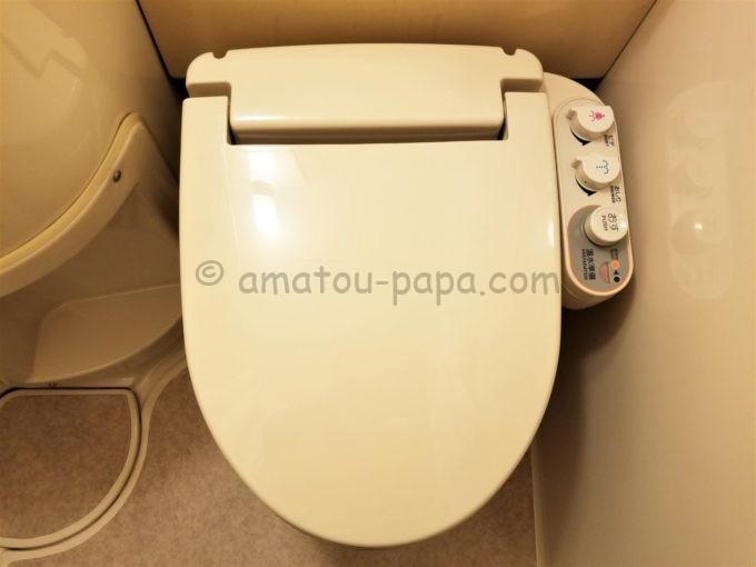 センターホテル大阪のトイレ