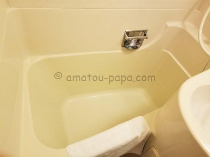 センターホテル大阪の浴槽