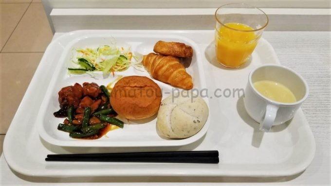 センターホテル東京の朝食