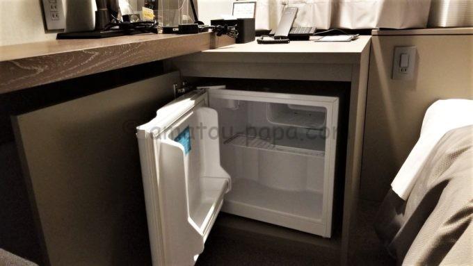 センターホテル東京の冷蔵庫