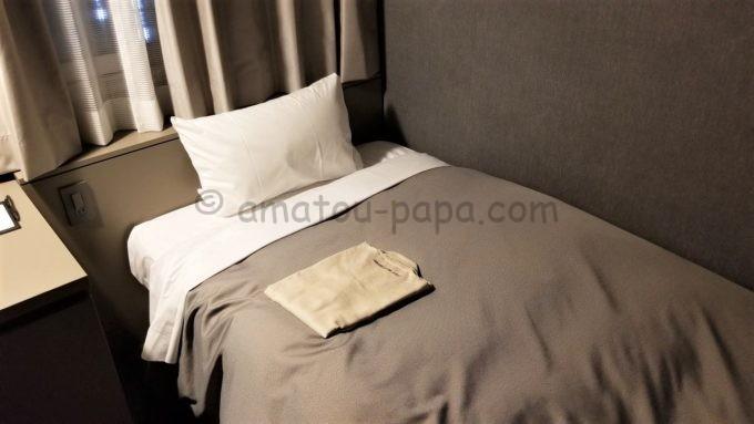 センターホテル東京のベッド
