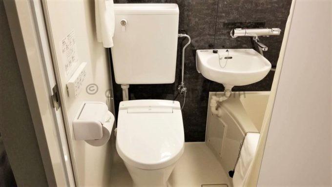 センターホテル東京のトイレ