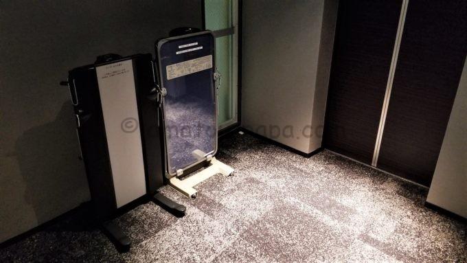 センターホテル東京のズボンプレッサー