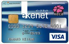 e-kenet(イーケネット)VISAカード