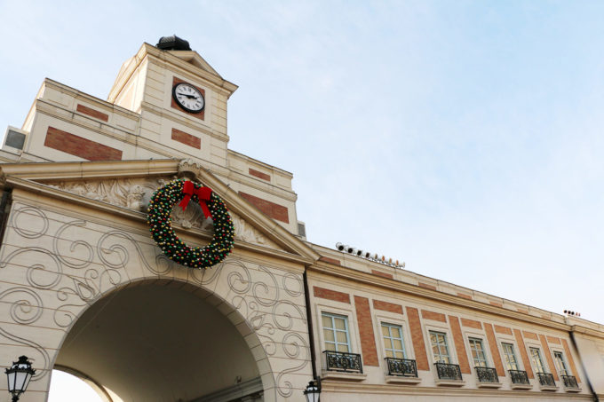 志摩スペイン村パルケエスパーニャのからくり時計