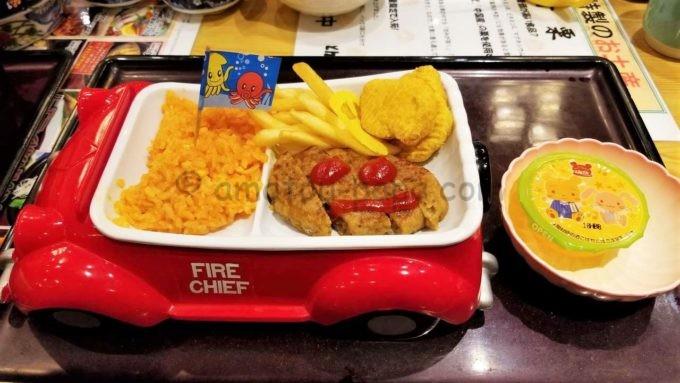 和食レストランとんでんの「おこさまランチセット」