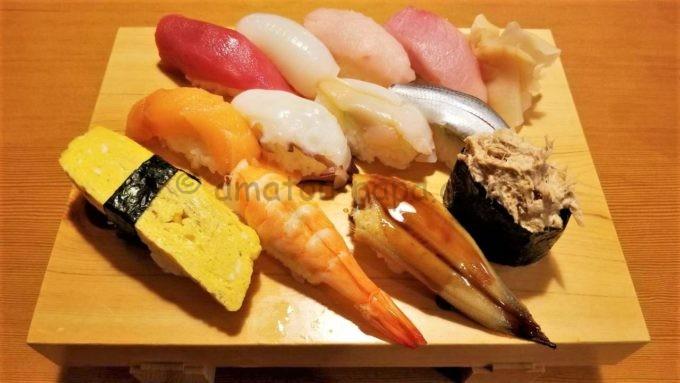 や台ずしの寿司