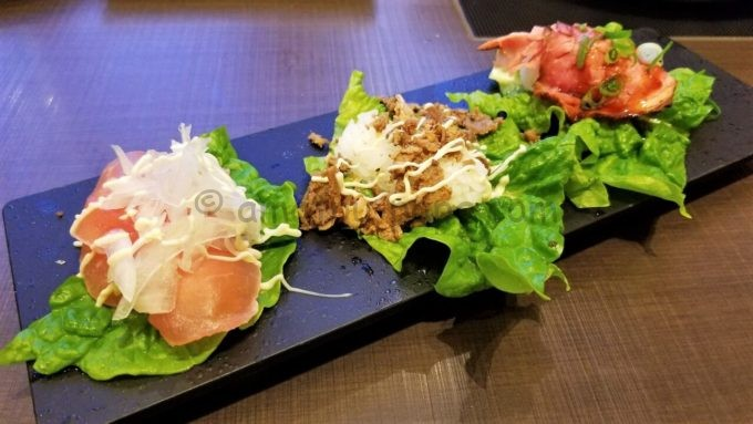 ゆず庵の包み菜肉寿司