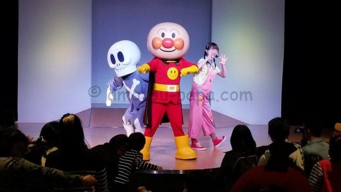 神戸アンパンマンこどもミュージアム&モールのアンパンマンのミニステージ