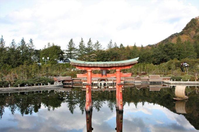 東武ワールドスクウェアの宮島