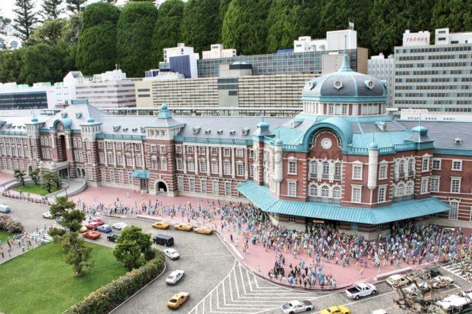 東武ワールドスクウェアの東京駅