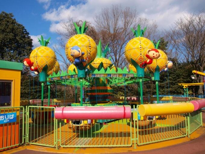日本モンキーパークのビッグパイナップル