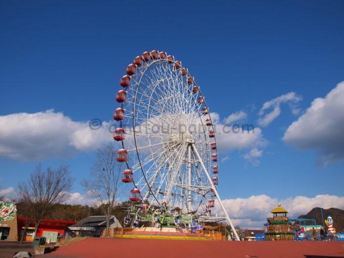 日本モンキーパークの観覧車