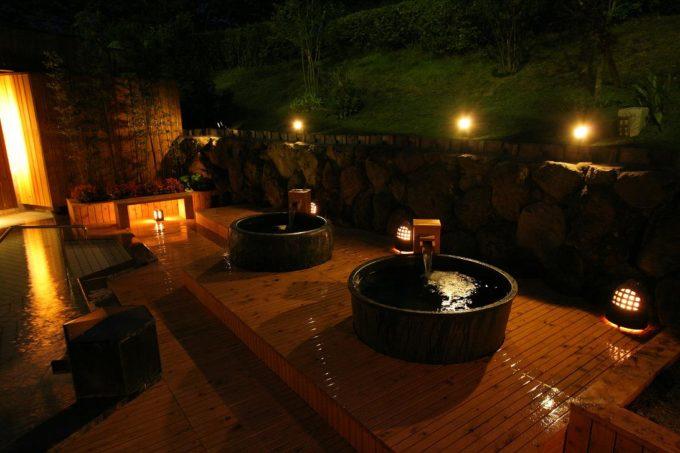 城島高原パークの温泉
