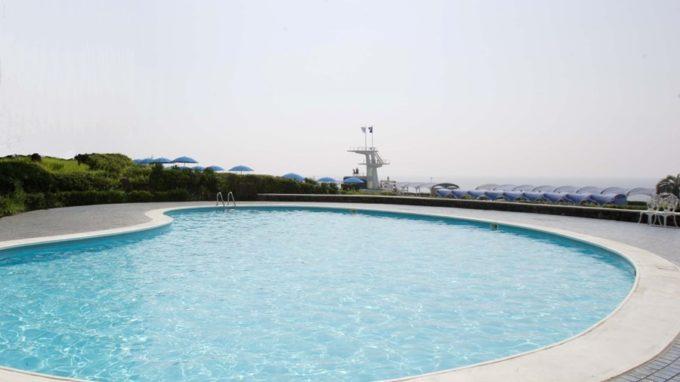 大磯ロングビーチのプライベートプール