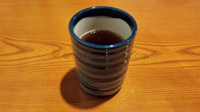 れすとらん北齋のお茶