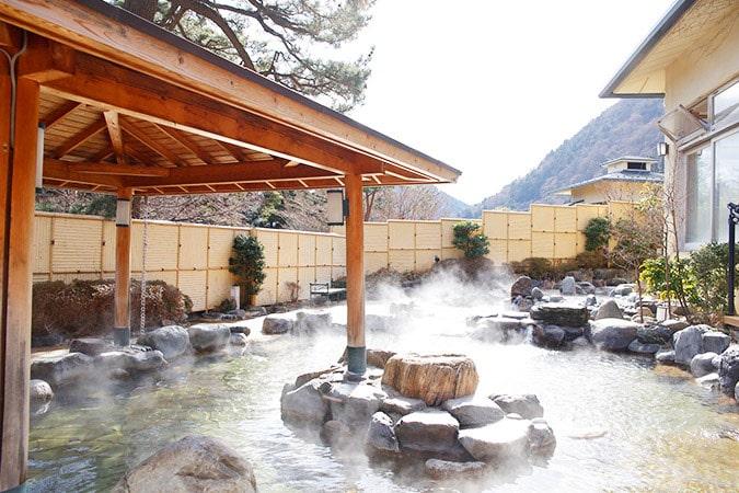 箱根小涌園ユネッサンの温泉「森の湯」