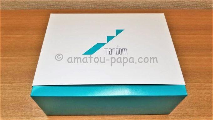 株式会社マンダムの株主優待品が入っている箱