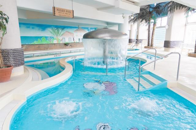 カリビアンビーチ(桐生市新里温水プール)の子供プール