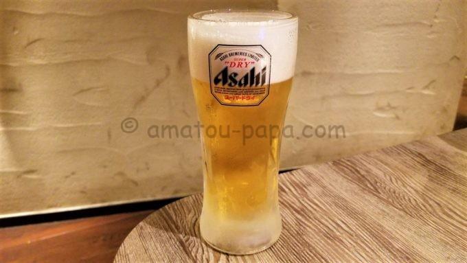 土間土間のビール