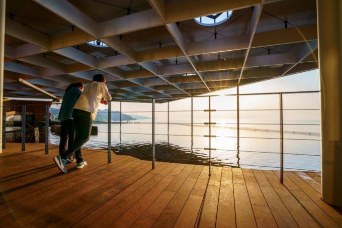 上越市立水族博物館 うみがたりの日本海テラス