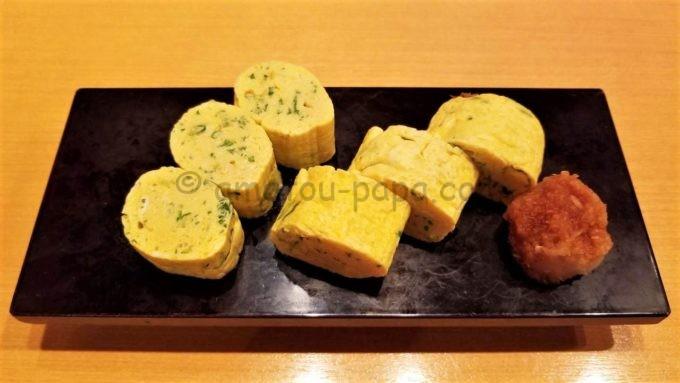 日本海庄やの九条葱厚焼き玉子