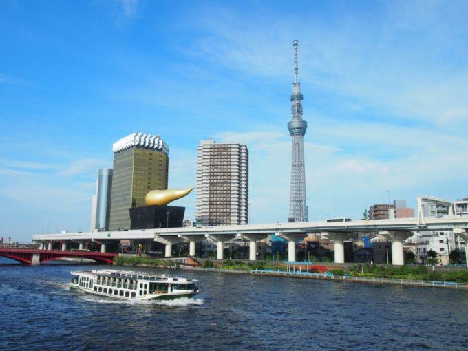 東京スカイツリーとスーパードライホール