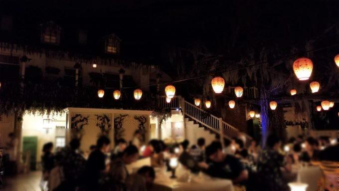 ブルーバイユー・レストランの雰囲気