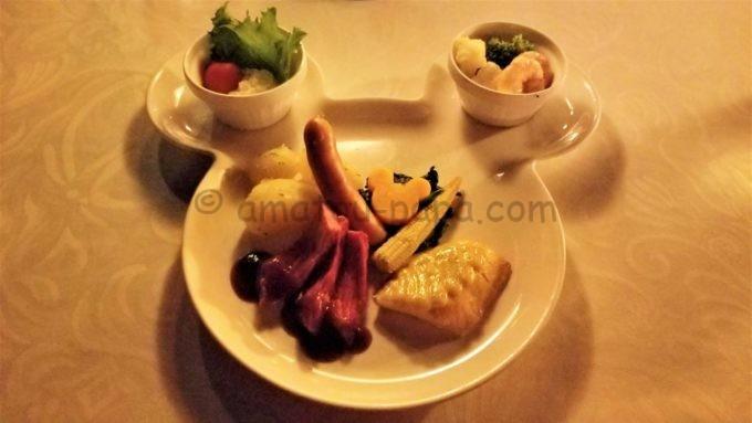 ブルーバイユー・レストランの「お子様セット」
